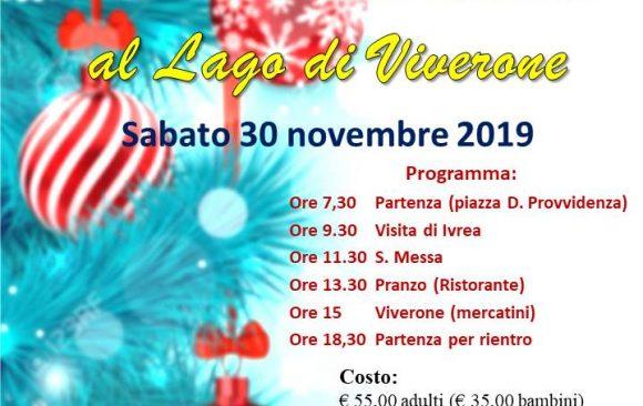 Viaggio a Ivrea e mercatini di Natale di Viverone