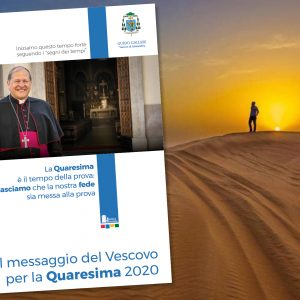 Messaggio del Vescovo per la Quaresima 2020