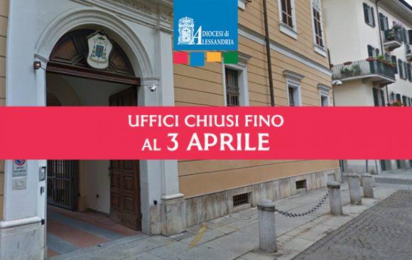 Uffici della Curia chiusi fino al 3 aprile