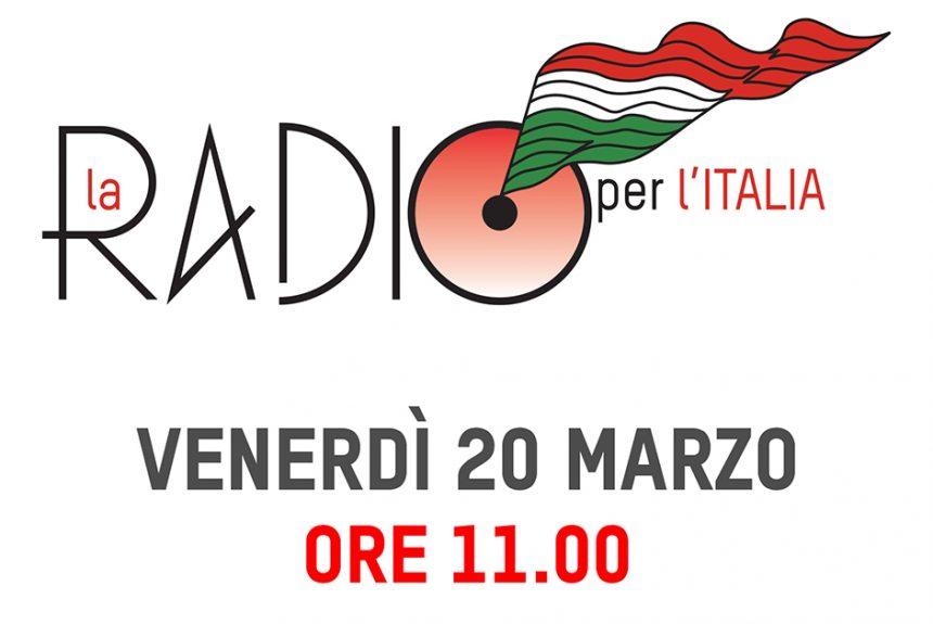 Radio Voce Spazio, insieme alle radio per l'Italia