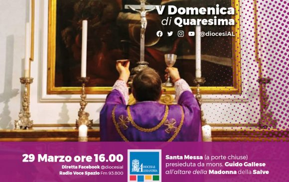 Monsignor Gallese, domenica 29 marzo ore 16 Santa Messa in streaming