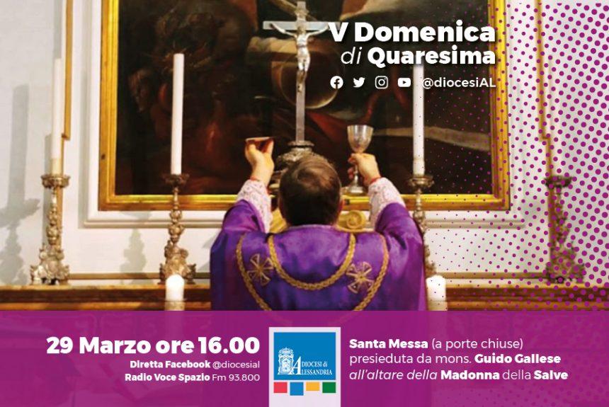 Monsignor Gallese, domenica 29 marzo ore 16 Santa Messa in streaming