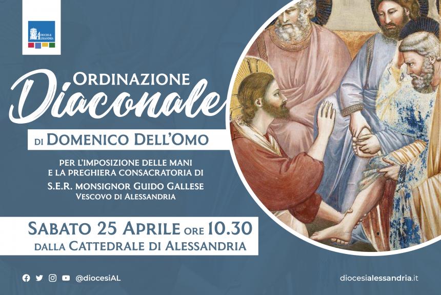 Seminario diocesano, Domenico Dell'Omo sarà diacono
