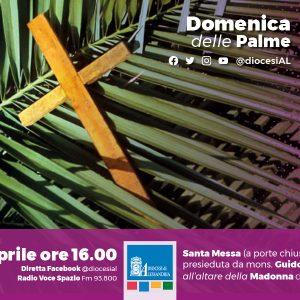 Monsignor Gallese, domenica delle Palme ore 16 Santa Messa in streaming