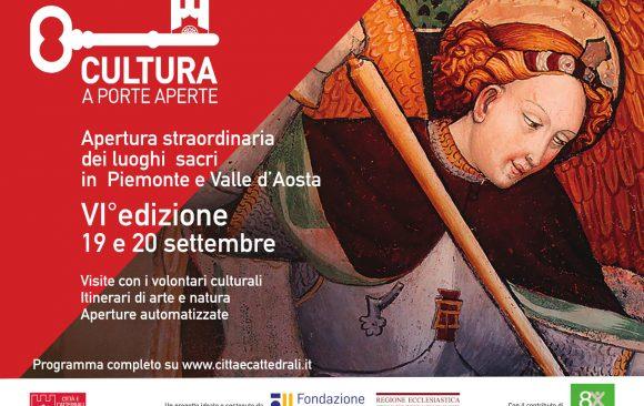Cultura a porte aperte, apertura straordinaria dei luoghi sacri in Piemonte