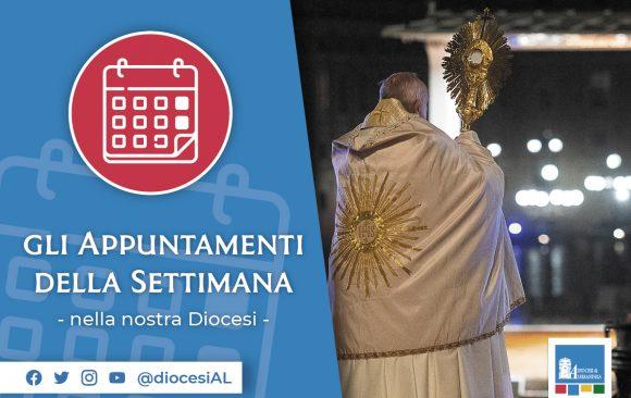 Gli appuntamenti della settimana in Diocesi:  gli eventi 8 – 15 ottobre 2020
