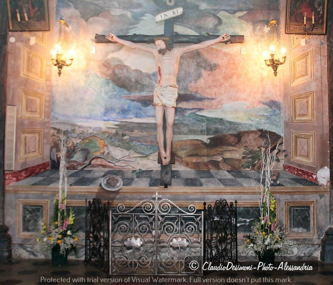 Inaugurazione crocifisso Cascinagrossa