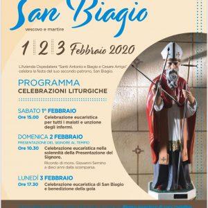Ospedale in festa per San Biagio