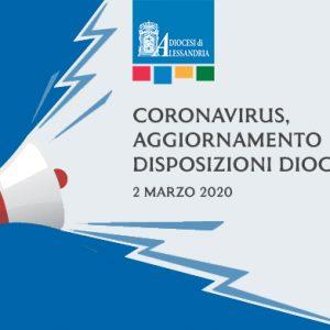Coronavirus, aggiornamento disposizioni della Diocesi