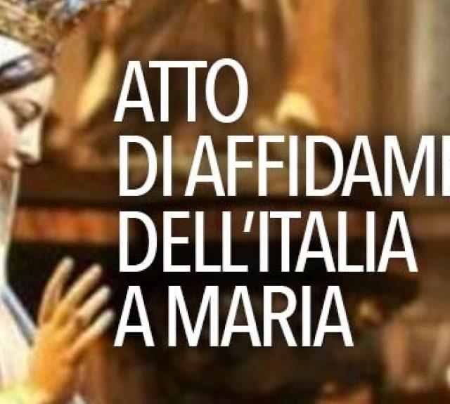 Atto di affidamento dell'Italia a Maria