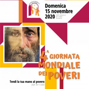Giornata Mondiale dei Poveri, le parole del nostro Vescovo e il materiale per la preghiera