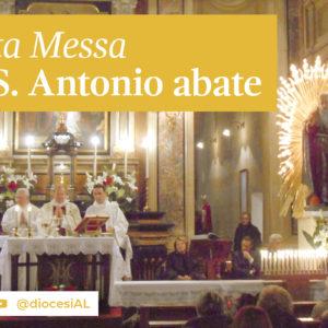 Sant'Antonio Abate: domenica 17 gennaio la messa all'ospedale e in streaming