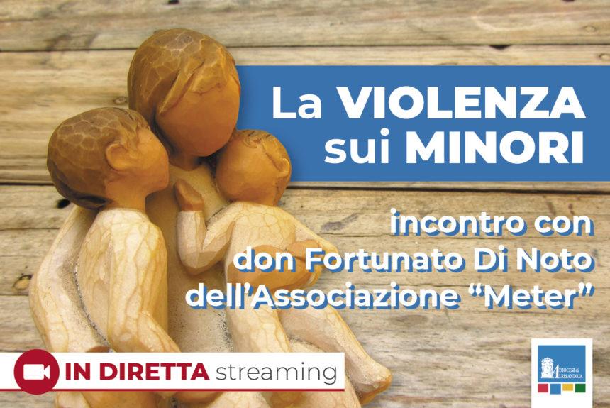 La violenza sui minori – incontro con don Fortunato Di Noto